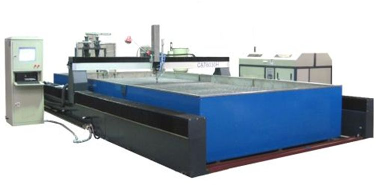 6x2m bridge waterjet