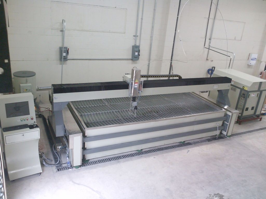 flat bed waterjet