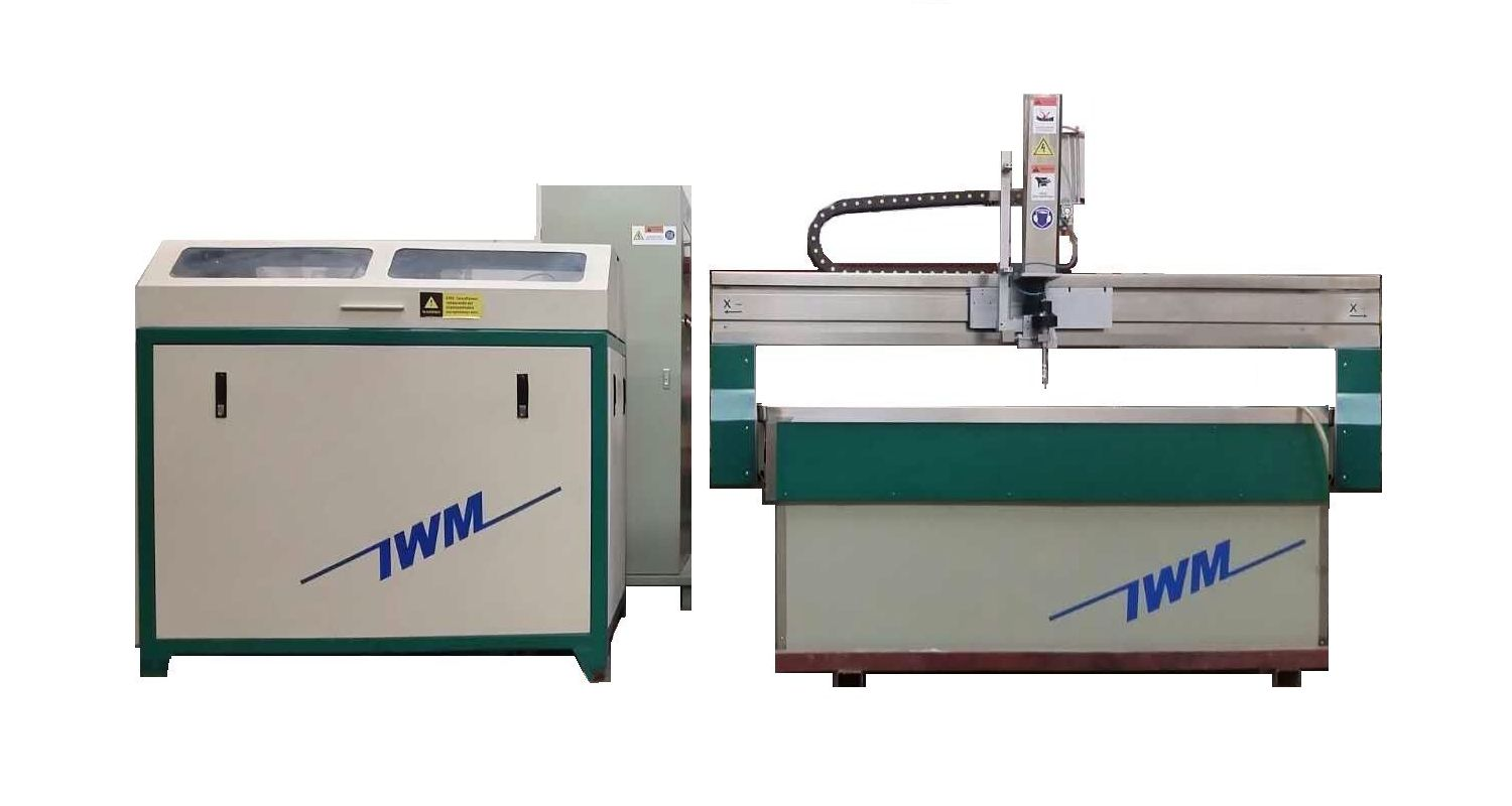 waterjet cutting machine 1.3m x 1.3m