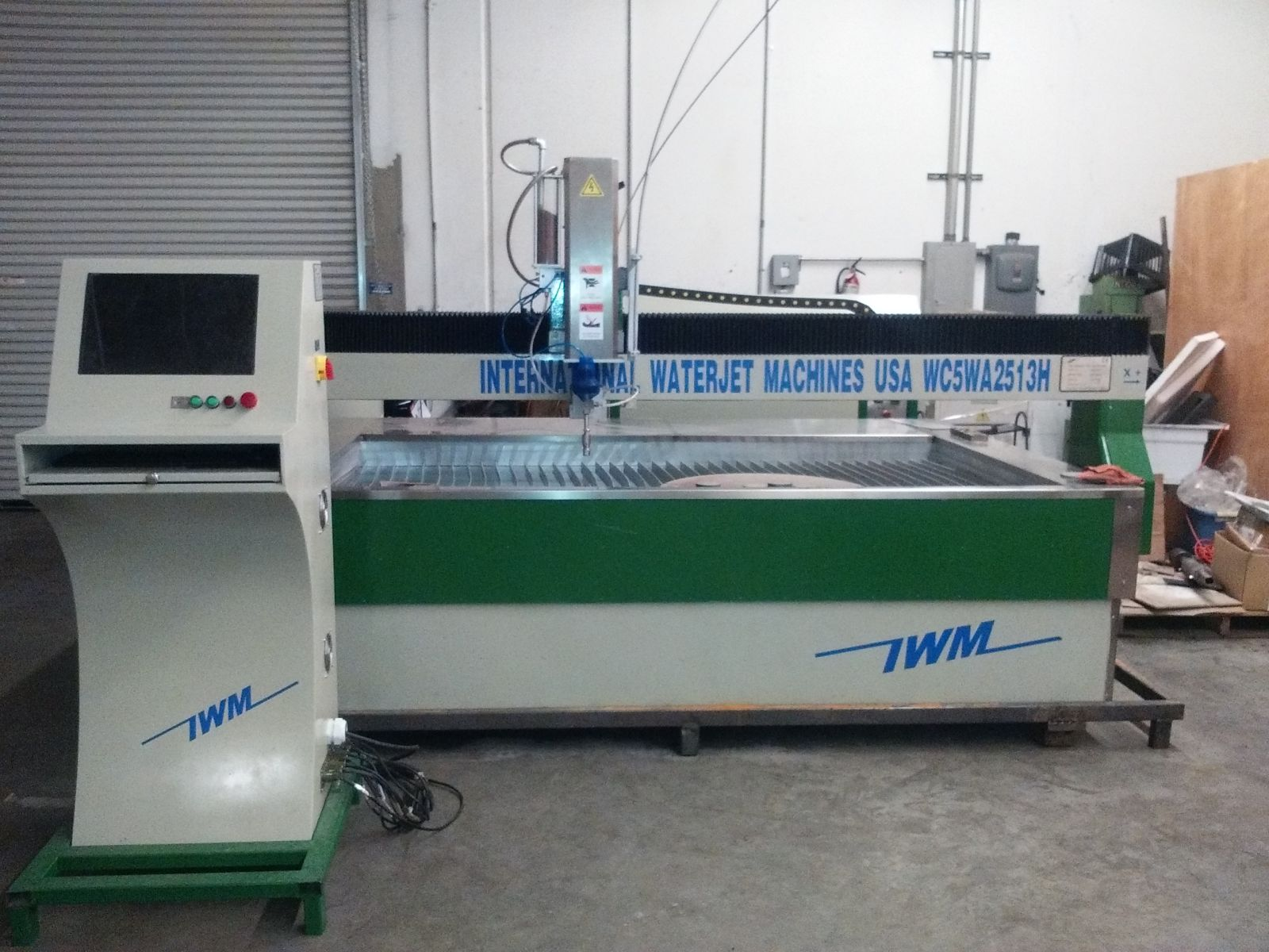 used 4'x8' waterjet machine